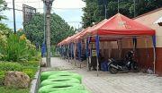 PKL Stadion Pare Keluhkan Batasan Jam Berjualan