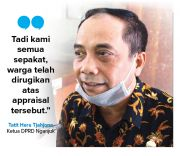 Adukan Appraisal Tanah Semantok ke DPRD