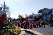 Ratusan Kader PDIP Demo di Polres