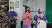 Dinkes Kediri Ajak Masyarakat Cuci Tangan Pakai Sabun