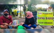Omzet Jasa Tukar Uang Lebaran Turun
