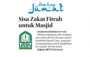 Sisa Zakat Fitrah untuk Masjid