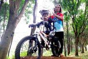 Heru Nur Cahyono, Antara Hobi Bersepeda dan Prestasi Downhill