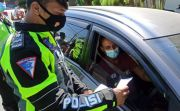 Hari Terakhir Penyekatan di Kediri: 4 Mobil Putar Balik