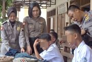 Nongkrong di Warung saat Jam Pelajaran, Puluhan Siswa Diciduk Polisi