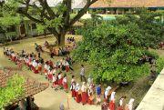 Demi Bangku Sang Anak, Wali Murid Rela Antre Daftar Sekolah Dari Subuh