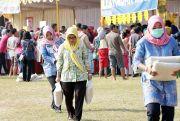 Dalam Dua Jam, Pasar Murah Polres Kudus Ludes Diserbu Warga