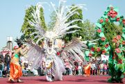 Aksi Pocil hingga Fashion Show Ramaikan Perayaan HUT ke-73 Bhayangkara
