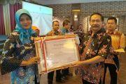 SMP Negeri 5 Pati Sabet Penghargaan Wajah Bahasa Sekolah
