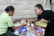 OPD dan Baznas Turun Tangan Bantu Keluarga Penderita Hidrosefalus
