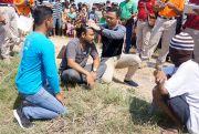 Rekonstruksi Pembunuhan Mayat Dalam Karung, Pelaku Peragakan 33 Adegan