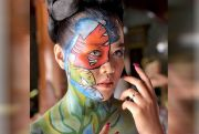 Jadi Model, Kepincut Face & Body Painting