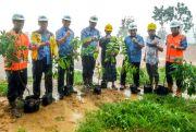 Libatkan Ratusan Petani Lokal, Bikin Lahan Hijau Seluas 35 Ha
