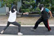 Tembus Skuad Pra-PON Jateng, Dua Atlet Anggar Jalani TC di Semarang