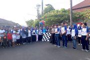 Seru, Ribuan Peserta Ikuti Jalan Sehat BPR BKK Jepara