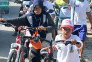 Ribuan Peserta Antusias Ikuti Sepeda Santai Milad ke-23 BMT BUS Lasem