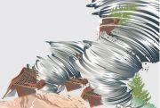 Angin Puting Beliung Porak-porandakan Rumah Warga di Grobogan