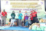 Universitas TerbukaSosialisasi ke Masyarakat lewat Jalan Sehat