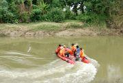 Pencarian Bocah SD Terseret Arus Sungai Serang Nihil