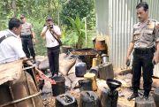 Tim Gabungan Gerebek Delapan Lokasi penimbunan MinyakIlegal di Blora