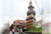 Tugu Adipura di Jepara Kini Dilengkapi Kolam dan Taman