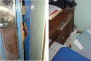 Maling Bobol Pintu Kantor SD 2 Ngabul Jepara, Gasak Uang Hasil PPS