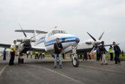 Cetak Sejarah, 36 Tahun Terbengkalai, Pesawat Sukses Mendarat di Blora