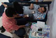 Donor Dua Hari, Kumpulkan 245 Kantong Darah