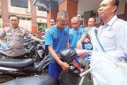 Gasak 10 Motor, Dua Residivis di Kudus Dibekuk Polisi
