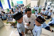 Ratusan Murid TK Muslimat NU Nawa Kartika Geruduk Radar Kudus