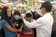 Sidak Swalayan, Bupati Pati Jumpai Pengunjung Tak Pakai Masker