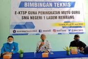 Sambut New Normal, SMAN 1 Lasem Perkuat Basis Teknologi