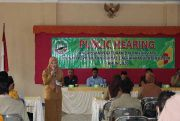 Butuh Masukan, DPRD Gelar Public Hearing