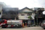 Muncul Api Lagi, Damkar Kembali Standby di Lokasi Kebakaran