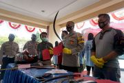 Tersangka Pembacokan di Jalan Raya Pati-Gabus Diancam 7 Tahun Penjara