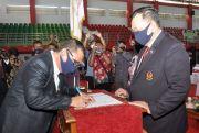 Dilantik, Ketua KONI Grobogan Ditarget Masuk Tiga Besar Porprov 2020