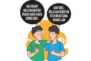 Sama-Sama Patah Hati demi Teman