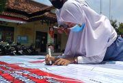 Para Siswa di Rembang Deklarasi Damai Sepakat Tolak Demo Anarkis