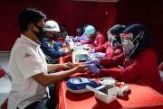 Peduli Sesama, SKSG Bersama PMI Rembang Gelar Kegiatan Donor Darah