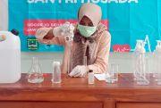 Produksi Disinfektan Sendiri sejak Awal Pandem