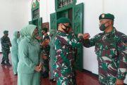 Empat Anggota Kodim Purwodadi Diberangkatkan ke Papua