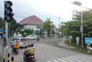 Traffic Light DPRD Jepara Mati Dua Hari Bikin Bingung Pengguna Jalan