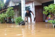 Lima Titik Tanggul Jebol, Ratusan Rumahdi Jepara Terendam Banjir