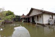 Air Sungai Meluap, Puluhan Rumah di Desa Mintobasuki Pati Terendam