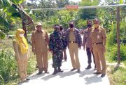 Berkat Pak Tentara, Akhirnya Jalan Desa Mulus
