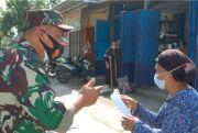 Pasukan BKO Perketat Perbatasan dan Beri Edukasi Prokes