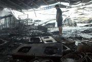 Swalayan di Jepara Ludes Terbakar, Diduga Akibat Korsleting Listrik