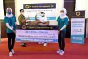 PT Victoria Care Indonesia Tbk Donasikan 14.400 Botol Hand Sanitizer