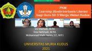 PKM UMK Bekali Guru SD Pelatihan Media Interaktif via Learning Studio