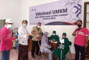 Bank Jateng Kudus Ciptakan Kekebalan Komunal Lewat Vaksinasi UMKM